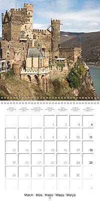 Romantic Rhine from Mainz to Cologne (Wall Calendar 2018 300 × 300 mm Square) - Produktdetailbild 3