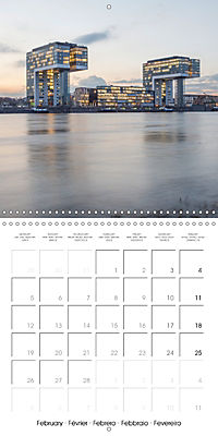 Romantic Rhine from Mainz to Cologne (Wall Calendar 2018 300 × 300 mm Square) - Produktdetailbild 2