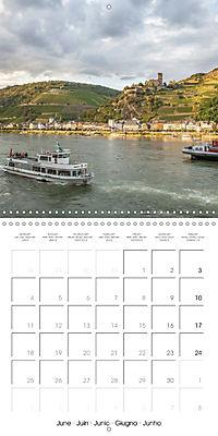 Romantic Rhine from Mainz to Cologne (Wall Calendar 2018 300 × 300 mm Square) - Produktdetailbild 6