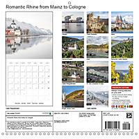 Romantic Rhine from Mainz to Cologne (Wall Calendar 2018 300 × 300 mm Square) - Produktdetailbild 13