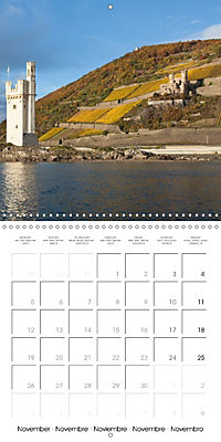 Romantic Rhine from Mainz to Cologne (Wall Calendar 2018 300 × 300 mm Square) - Produktdetailbild 11