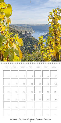 Romantic Rhine from Mainz to Cologne (Wall Calendar 2018 300 × 300 mm Square) - Produktdetailbild 10
