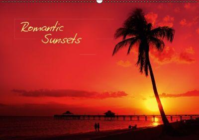 Romantic Sunsets (Posterbuch DIN A2 quer), Melanie Viola