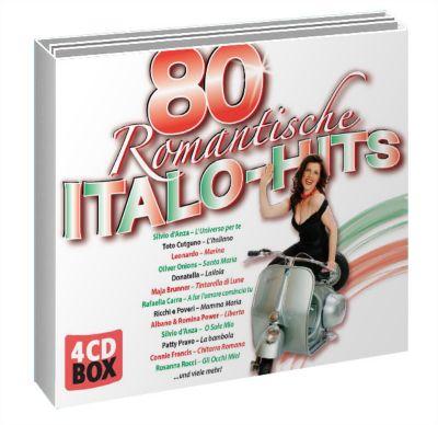 Romantische Italo-Hits, Diverse Interpreten