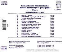 Romantische Klavierstücke Vol. 1 - Produktdetailbild 1