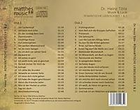 Romantische Liebeslieder,Teil 1 & 2: Klaviermusik - Produktdetailbild 1