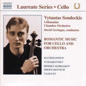 Romantische Musik Für Cello Un, Vytautas Sondeckis, Geringas