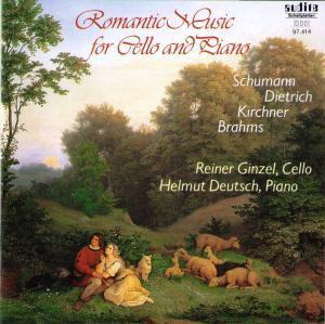 Romantische Musik Für Cello Und Klavier, Helmut Deutsch, Reiner Ginzel