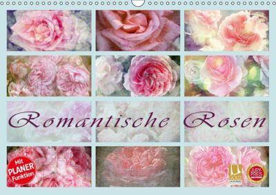 Romantische Rosen (Wandkalender 2019 DIN A3 quer), Martina Cross