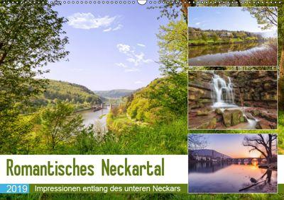 Romantisches Neckartal (Wandkalender 2019 DIN A2 quer), Axel Matthies