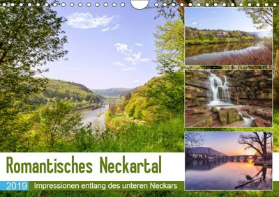 Romantisches Neckartal (Wandkalender 2019 DIN A4 quer), Axel Matthies