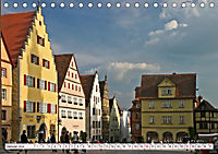 Romantisches Rothenburg ob der Tauber (Tischkalender 2019 DIN A5 quer) - Produktdetailbild 1