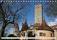 Romantisches Rothenburg ob der Tauber (Tischkalender 2019 DIN A5 quer) - Produktdetailbild 8