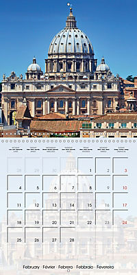 ROME Highlights (Wall Calendar 2019 300 × 300 mm Square) - Produktdetailbild 2