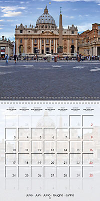ROME Highlights (Wall Calendar 2019 300 × 300 mm Square) - Produktdetailbild 6