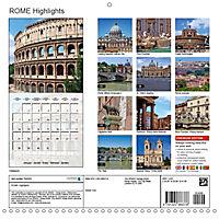 ROME Highlights (Wall Calendar 2019 300 × 300 mm Square) - Produktdetailbild 13