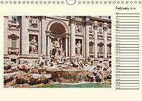 Rome Italy / UK-Version / Birthday Calendar (Wall Calendar 2019 DIN A4 Landscape) - Produktdetailbild 2