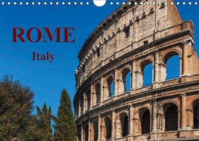 Rome Italy / UK-Version / Birthday Calendar (Wall Calendar 2019 DIN A4 Landscape), Gunter Kirsch