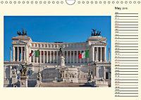 Rome Italy / UK-Version / Birthday Calendar (Wall Calendar 2019 DIN A4 Landscape) - Produktdetailbild 5