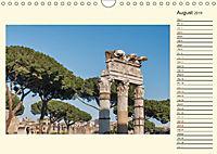 Rome Italy / UK-Version / Birthday Calendar (Wall Calendar 2019 DIN A4 Landscape) - Produktdetailbild 8