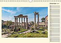 Rome Italy / UK-Version / Birthday Calendar (Wall Calendar 2019 DIN A4 Landscape) - Produktdetailbild 12