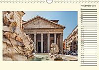 Rome Italy / UK-Version / Birthday Calendar (Wall Calendar 2019 DIN A4 Landscape) - Produktdetailbild 11