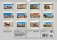 Rome Italy / UK-Version / Birthday Calendar (Wall Calendar 2019 DIN A4 Landscape) - Produktdetailbild 13