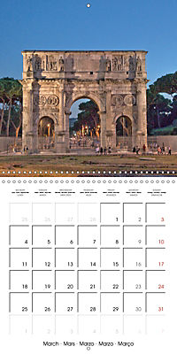 Rome The Eternal City (Wall Calendar 2019 300 × 300 mm Square) - Produktdetailbild 3