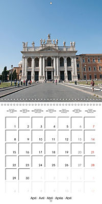 Rome The Eternal City (Wall Calendar 2019 300 × 300 mm Square) - Produktdetailbild 4