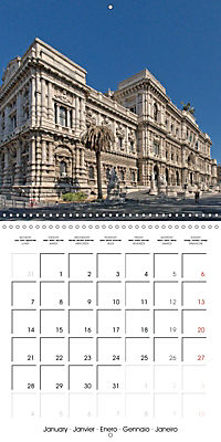 Rome The Eternal City (Wall Calendar 2019 300 × 300 mm Square) - Produktdetailbild 1