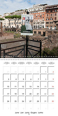 Rome The Eternal City (Wall Calendar 2019 300 × 300 mm Square) - Produktdetailbild 6