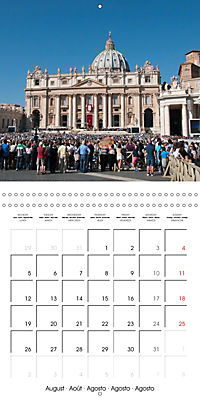 Rome The Eternal City (Wall Calendar 2019 300 × 300 mm Square) - Produktdetailbild 8