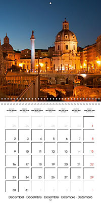 Rome The Eternal City (Wall Calendar 2019 300 × 300 mm Square) - Produktdetailbild 12