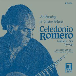 Romero,Cel.Gitarrenabend, Celedonio Romero