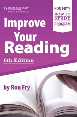Ron Fry's How to Study Program: Improve Your Reading, Ron Fry