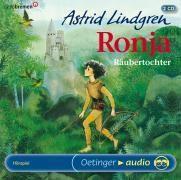 Ronja Räubertochter, 2 Audio-CDs, Astrid Lindgren