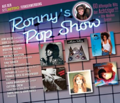 Ronny's Popshow - Best Of (3 CDs), Diverse Interpreten