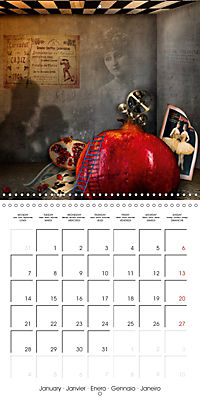 Rooms Surreal Impressions (Wall Calendar 2019 300 × 300 mm Square) - Produktdetailbild 1