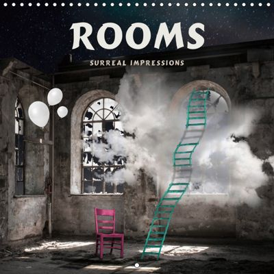 Rooms Surreal Impressions (Wall Calendar 2019 300 × 300 mm Square), Marion Kraetschmer