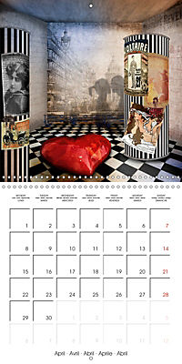Rooms Surreal Impressions (Wall Calendar 2019 300 × 300 mm Square) - Produktdetailbild 4