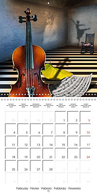 Rooms Surreal Impressions (Wall Calendar 2019 300 × 300 mm Square) - Produktdetailbild 2