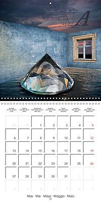 Rooms Surreal Impressions (Wall Calendar 2019 300 × 300 mm Square) - Produktdetailbild 5
