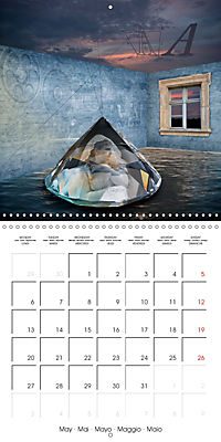 Rooms Surreal Impressions (Wall Calendar 2019 300 × 300 mm Square) - Produktdetailbild 5