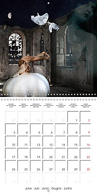 Rooms Surreal Impressions (Wall Calendar 2019 300 × 300 mm Square) - Produktdetailbild 6