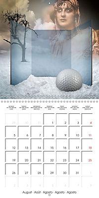 Rooms Surreal Impressions (Wall Calendar 2019 300 × 300 mm Square) - Produktdetailbild 8