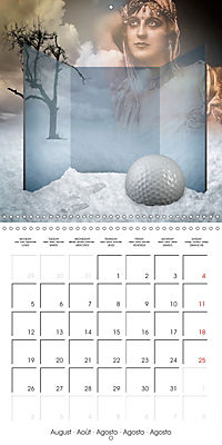 Rooms Surreal Impressions (Wall Calendar 2019 300 × 300 mm Square) - Produktdetailbild 8