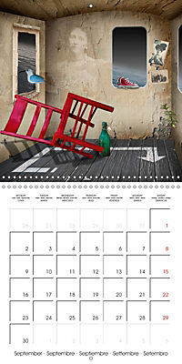 Rooms Surreal Impressions (Wall Calendar 2019 300 × 300 mm Square) - Produktdetailbild 9