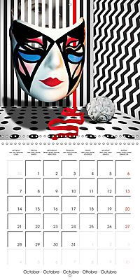 Rooms Surreal Impressions (Wall Calendar 2019 300 × 300 mm Square) - Produktdetailbild 10