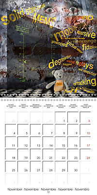 Rooms Surreal Impressions (Wall Calendar 2019 300 × 300 mm Square) - Produktdetailbild 11