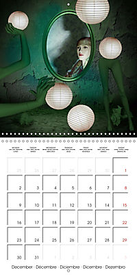 Rooms Surreal Impressions (Wall Calendar 2019 300 × 300 mm Square) - Produktdetailbild 12
